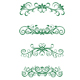 Vintage floral decorations - GraphicRiver Item for Sale