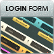 Minimalistic & Modern Login Form - GraphicRiver Item for Sale