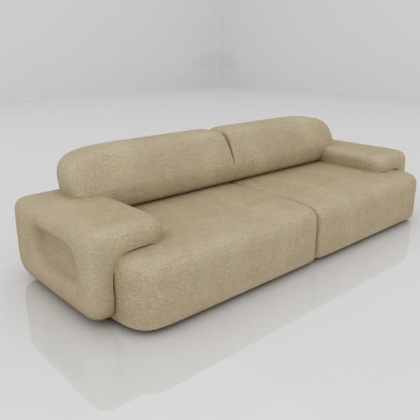 Sofa Big - 3DOcean Item for Sale