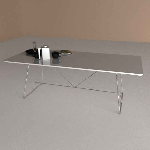 3DOcean Calligaris Table Duke 243809