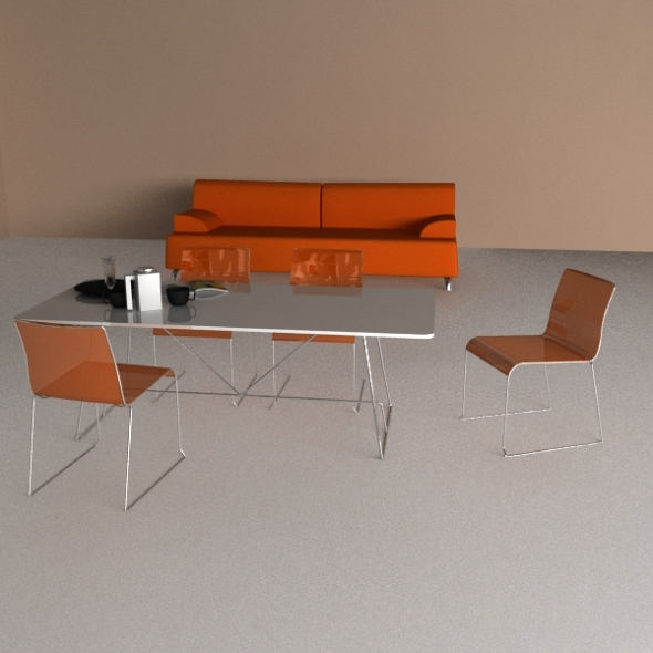 3DOcean Calligaris Furniture Collection 1 243811