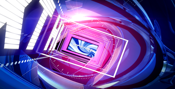 After Effects Project - VideoHive Pink Blue 2095452