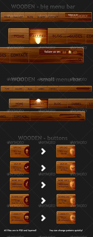 GraphicRiver miniDEV wooden 81032