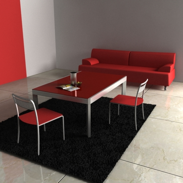 Calligaris Furniture Collection 2 - 3DOcean Item for Sale