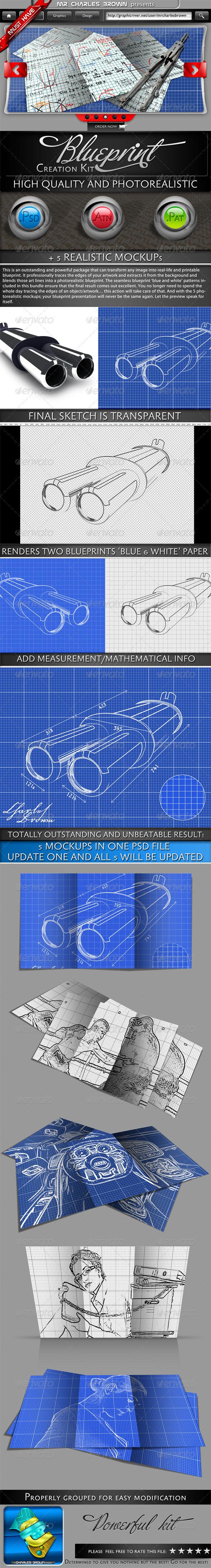 Blueprint Creation Kit - Photoshop Add-ons