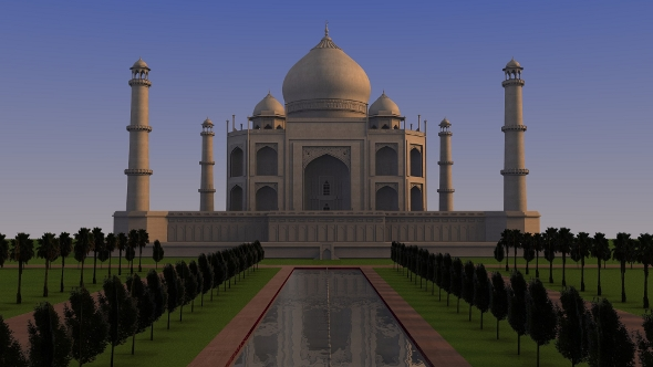 3DOcean Taj Mahal 81062