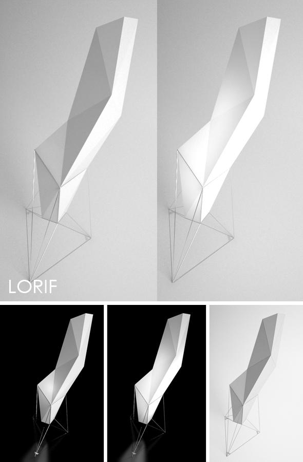 3DOcean Vondom Faz floor lamp 243938