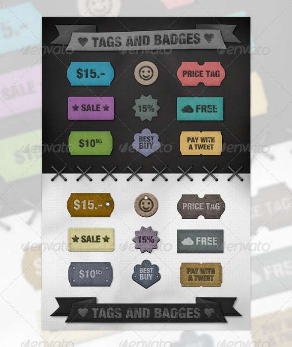 Tags and Badges
