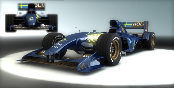 3DOcean Formula 1 Car 243993