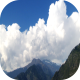 Time-lapse pan of mountains 6 - VideoHive Item for Sale