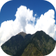 Time-lapse zoom of mountains and sky - VideoHive Item for Sale