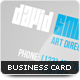 Galactic Business Card - GraphicRiver Item for Sale
