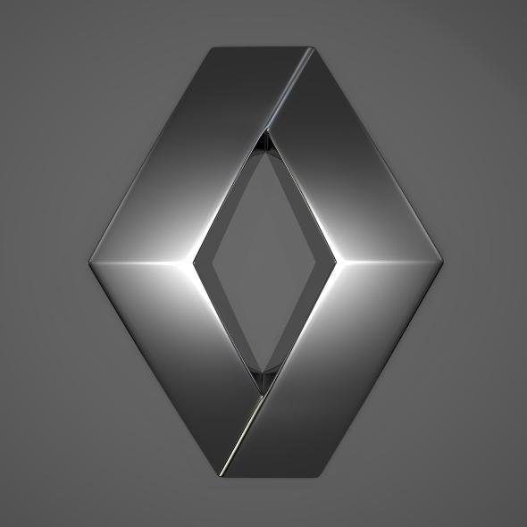 3DOcean Renault Logo 244316