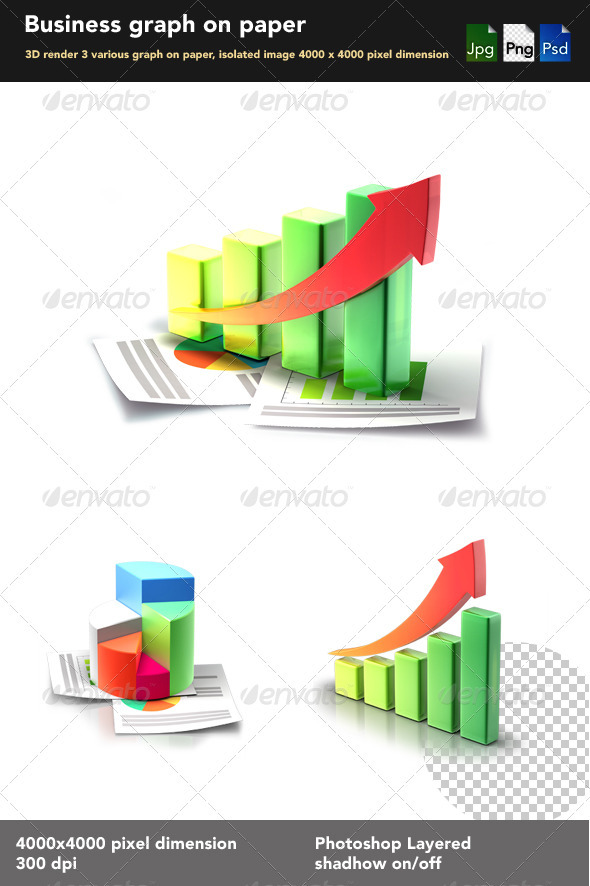 GraphicRiver Business 3D Graph 2157774