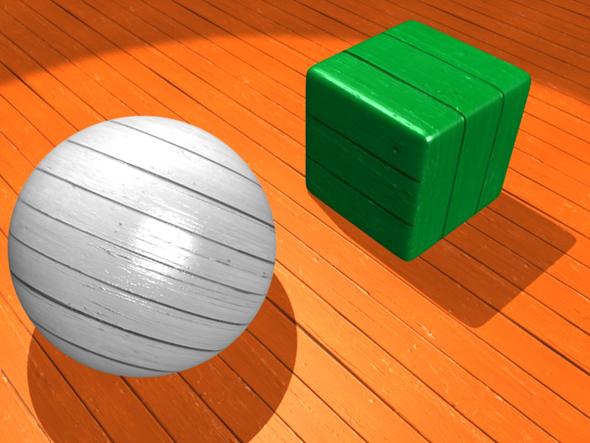 Wood Deck - 3DOcean Item for Sale