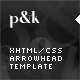 XHTML/CSS Arrowhead Template - 3 Skins - ThemeForest Item for Sale