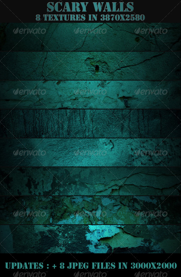 Scary Walls - Industrial / Grunge Textures