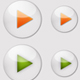 7 Glossy Play Icons - GraphicRiver Item for Sale