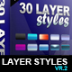 Layer Styles vr. 2 - GraphicRiver Item for Sale