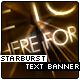 Starburst Text Banner - ActiveDen Item for Sale