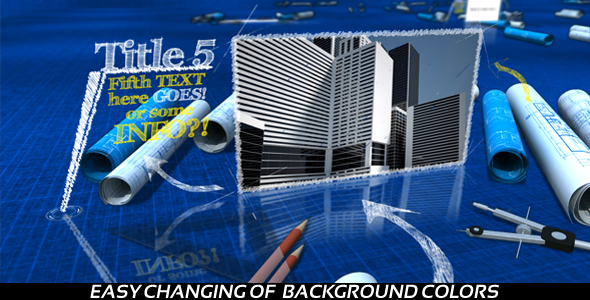 After Effects Project - VideoHive Corporate Blueprint 244796
