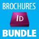 Brochures Bundle InDesign template (A4 format)