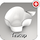 An Apple Teacup - 3DOcean Item for Sale