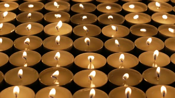 VideoHive Candles Burn 18632034