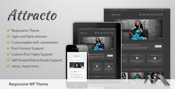 Attracto WordPress Theme