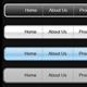 10 CLEAN Web Navigation Menus - GraphicRiver Item for Sale