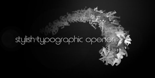 VideoHive stylish typography intro 2165188