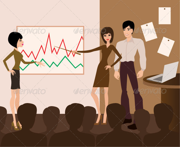 Graphic River Business Meeting Presentation Vectors -  Conceptual  Business 2166357