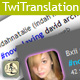 Twitter Translations Widg - ActiveDen Item for Sale