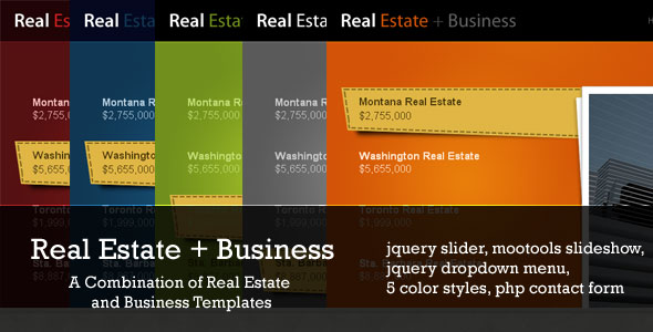 Real Estate + Business 5 in 1 -