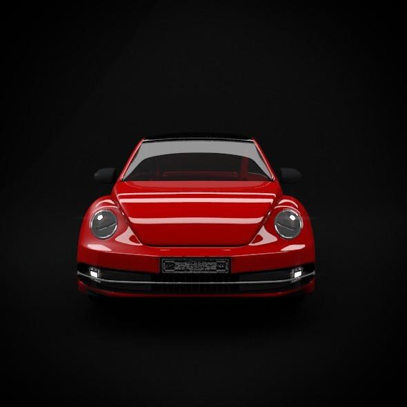 3DOcean Newbeetle Car Modeling 2127184