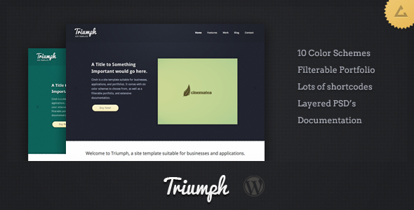 Triumph - Business WordPress