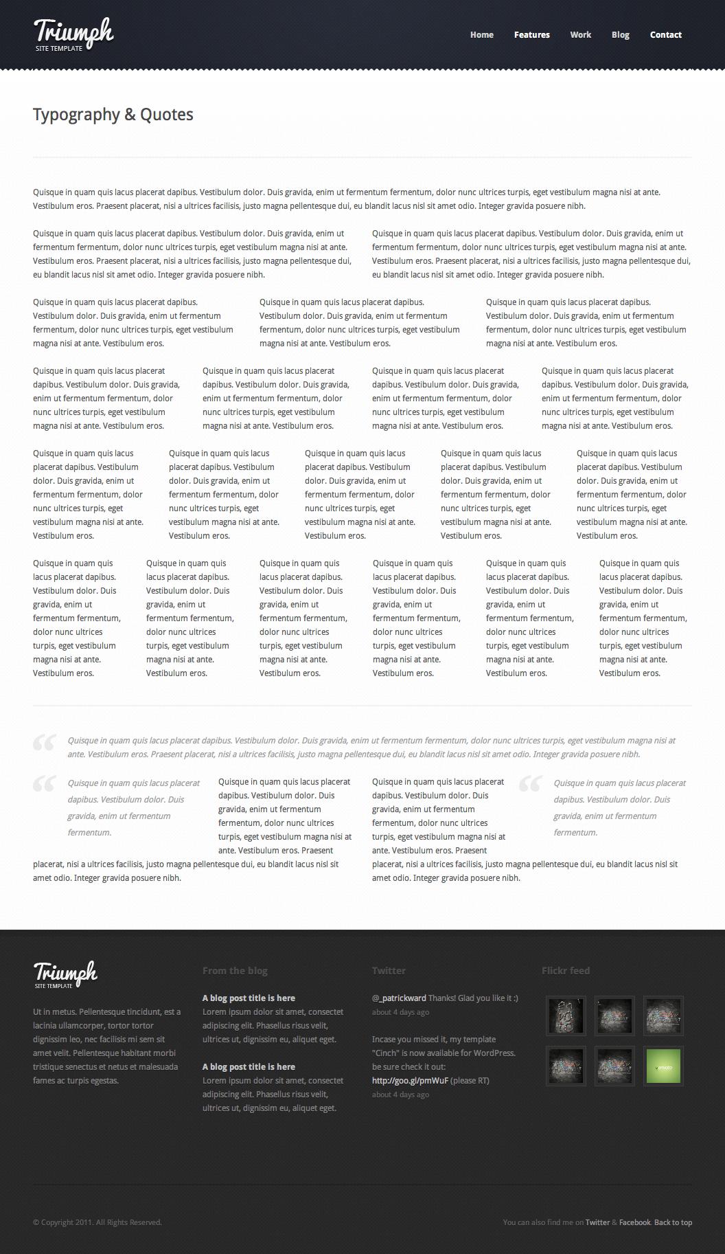 Triumph - Business WordPress