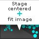 Stage always centered + fit image - ActiveDen Item for Sale