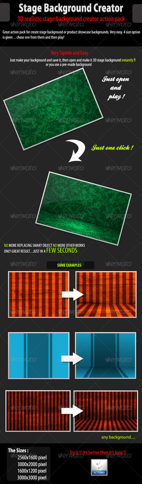 GraphicRiver 3D Stage Background Creator 242488