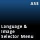 XML configurable language / image selector menu - ActiveDen Item for Sale