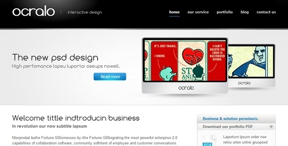 ThemeForest Ocralo 52331