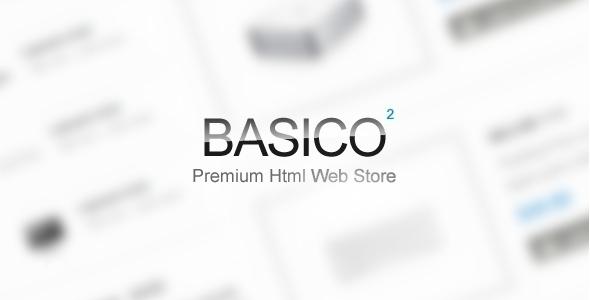 ThemeForest Basico E-commerce Site Template 471301