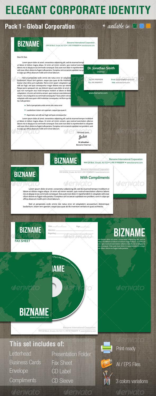 Elegant Corporate Identity System V1