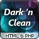 Dark 'n Clean - Business / Portfolio / Personal [HTML] - ThemeForest Item for Sale
