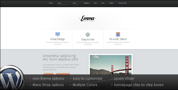 Business and Portfolio Wordpress Theme - Emma - Business Corporate