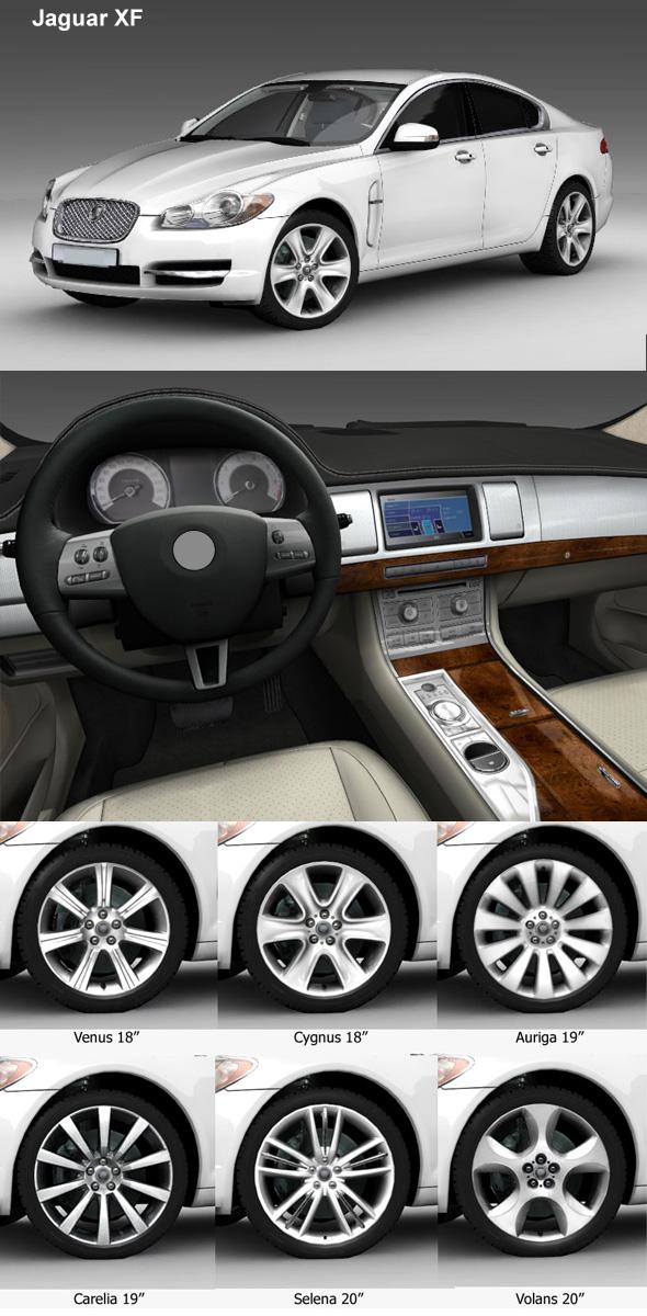 3DOcean Jaguar XF 246045