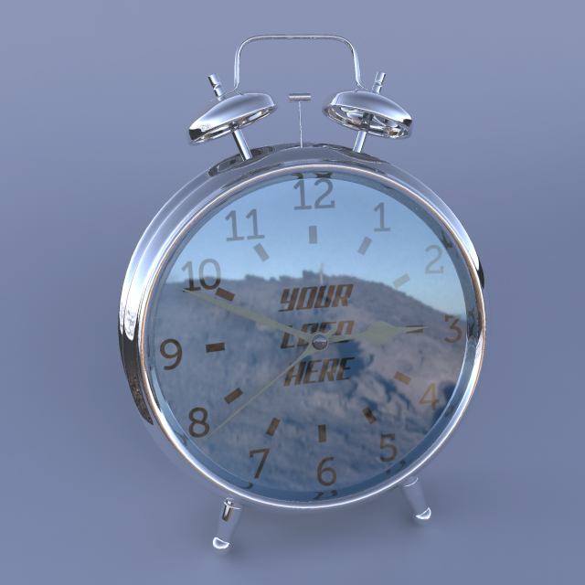 Classic Alarm Clock - 3DOcean Item for Sale