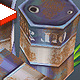 Low Poly Barrels - 3DOcean Item for Sale