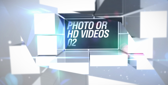 After Effects Project - VideoHive Floating Cubes 246077