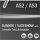 BANNER / SLIDESHOW with smooth text animation - ActiveDen Item for Sale
